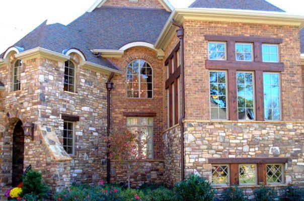 سنگ آنتیک نمای بیرون ساختمان