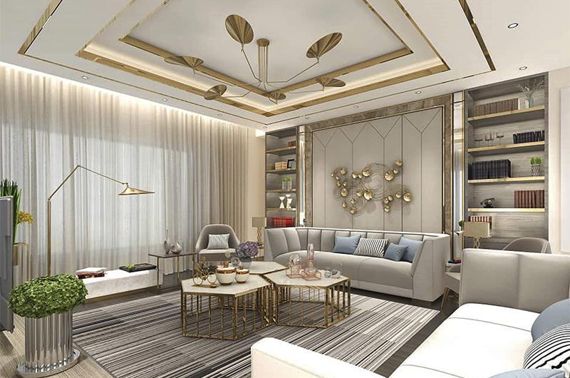 طراحی نمای داخلی ساختمان